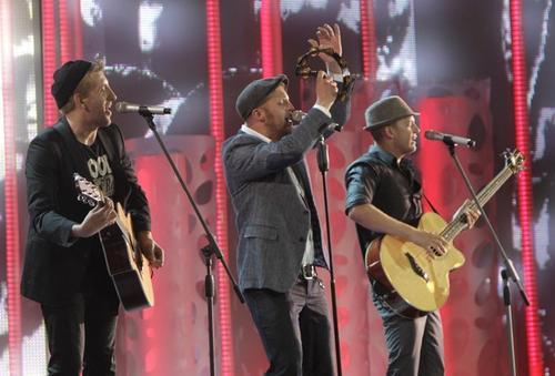 Трио из Финляндии «Koop Arponen & Flute of  Shame», получившее «Золотую звезду Аллы» и 50 тысяч евро