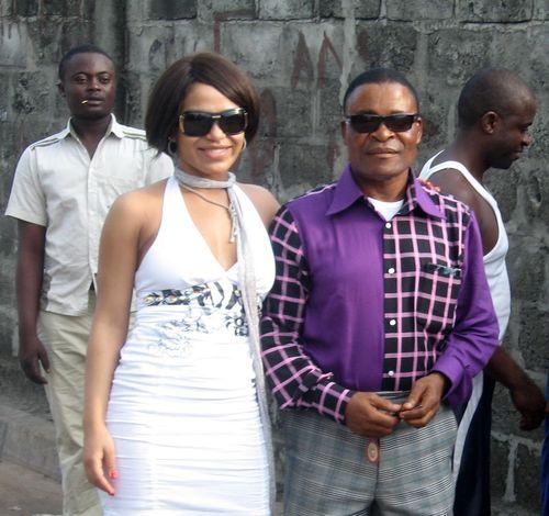 Гайтана с отцом