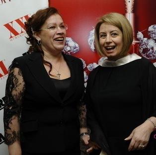 Жена Юрия Бойка Вера и депутат Верховной Рады Анна Герман нашли о чем поговорить