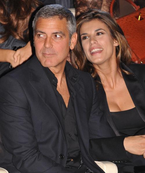 Джордж Клуни с Элизабеттой Каналис