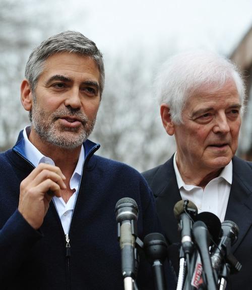 Джордж Клуни вместе с отцом Ником Клуни