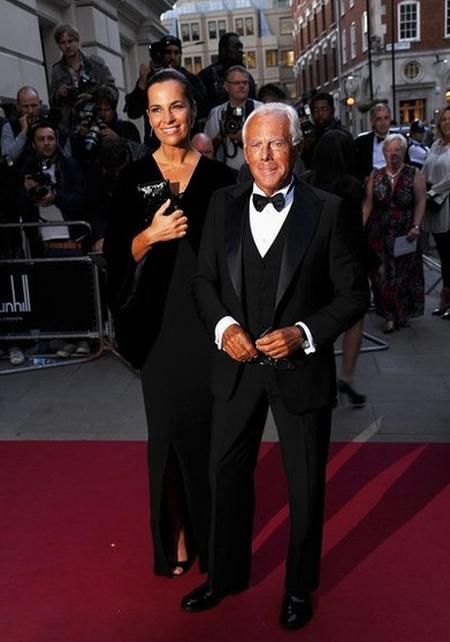Джорджио Армани с племянницей Робертой