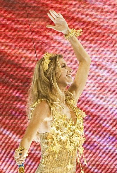 Жизель Бюндхен / Gisele Bundchen на карнавале в Рио-де-Жанейро, Бразилия