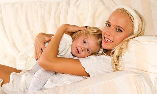 Глюкоза с дочерью Лидой