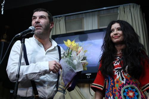 Евгений Гришковец и Наталья Дзенькив
