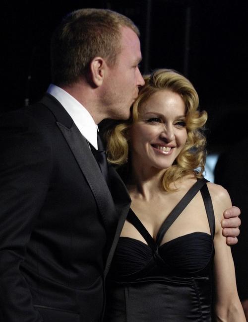 Гай Ричи и Мадонна в феврале 2007 года