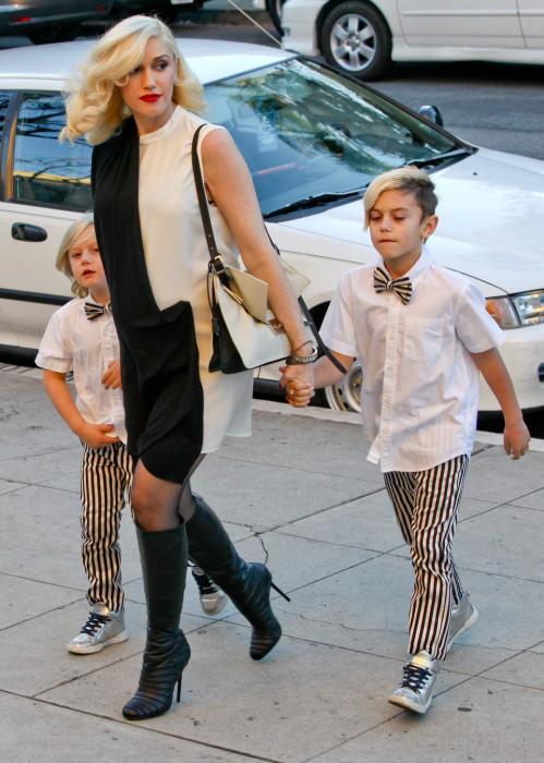 Гвен Стефани с детьми