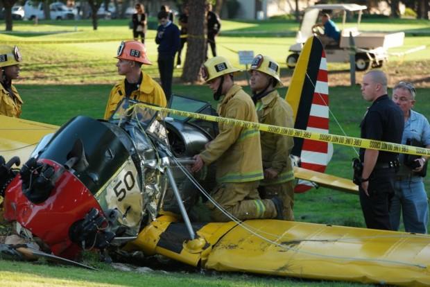 харрисон форд разбился на самолете