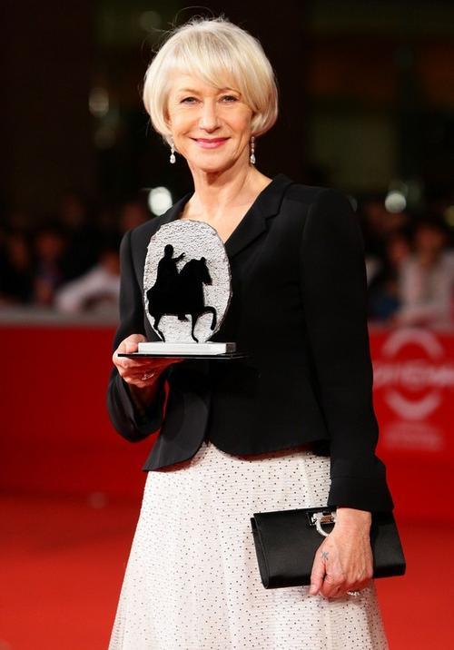64-летняя британская актриса Хелен Миррен удостоена награды за лучшую женскую роль