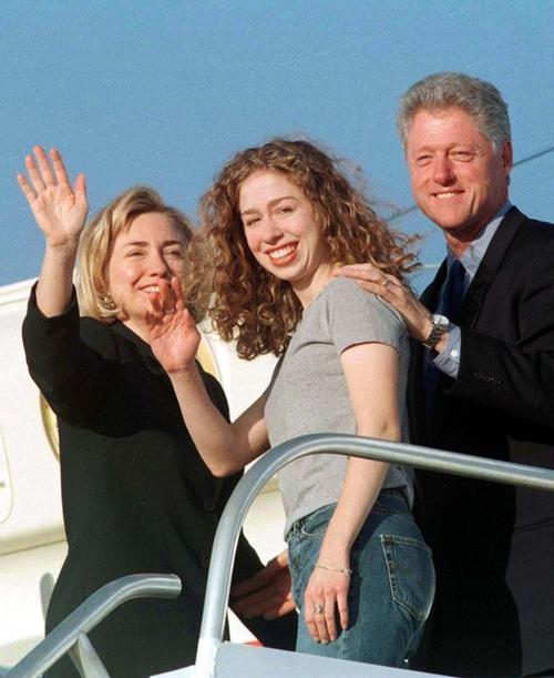 Семья Клинтонов, 1997 год