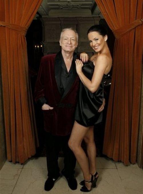 Хью Хефнер не смог устоять перед красотой украинской певицы и модели Даши Астафьевой