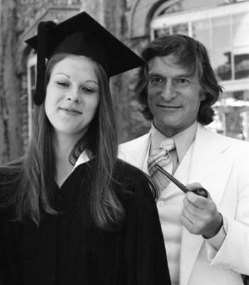 Хью Хефнер с дочерью
