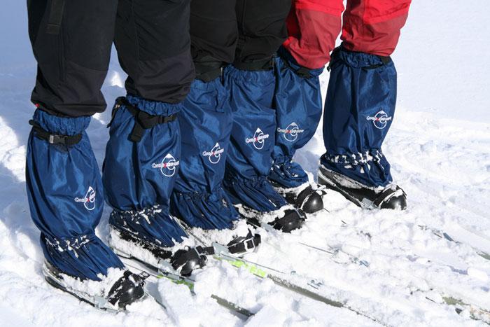 Лыжные бахилы своими руками