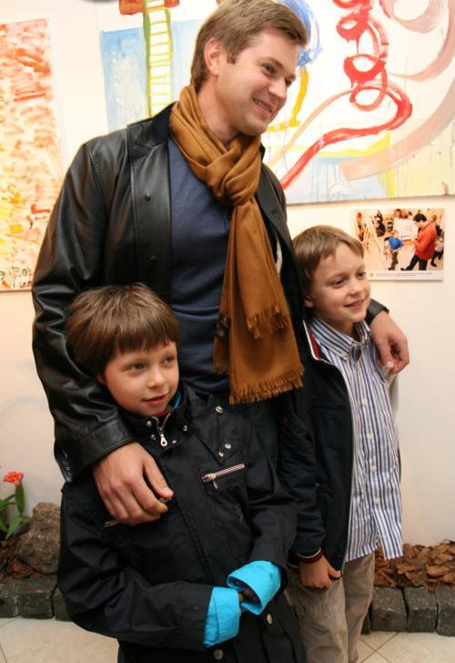 Игорь Франчук с детьми
