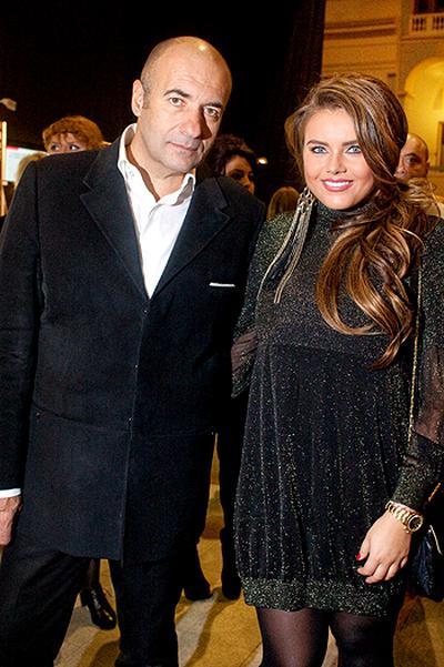 Игорь Крутой с дочерью Викой