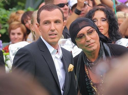 Игорь Верник и Валерий Леонтьев