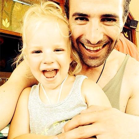 Илья Любимов с дочерью Павлой