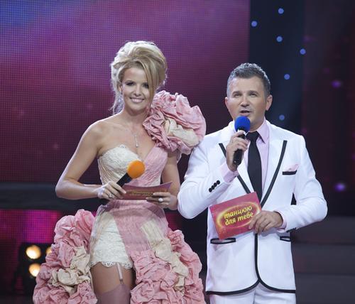 Инна Цимбалюк и Юрий Горбунов на шоу «Танцюю для тебе»