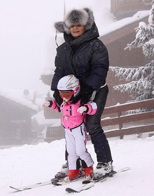 Ирэна Кильчицкая с дочерью Моникой