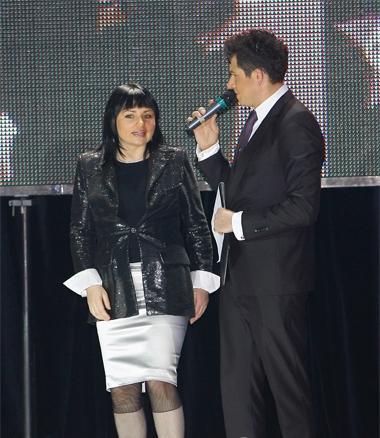 Заместитель главы КГГА – Ирэна Кильчицкая в этот вечер была названа секс-символом