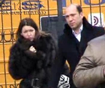 Ирина Дубцова и ее жених Тигран