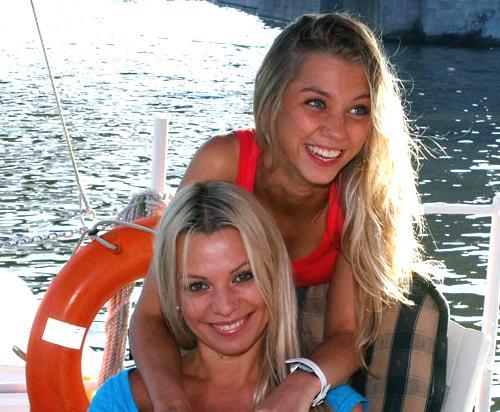 Ирина Салтыкова с дочерью Алисой