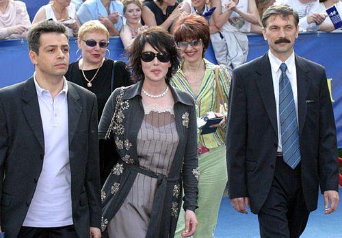 Изабель Аджани на кинофестивале в Москве