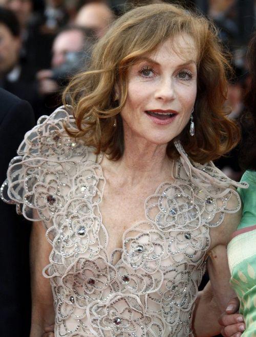 56-летняя французская актриса Изабель Юппер в этом году возглавила жюри Каннского кинофестиваля