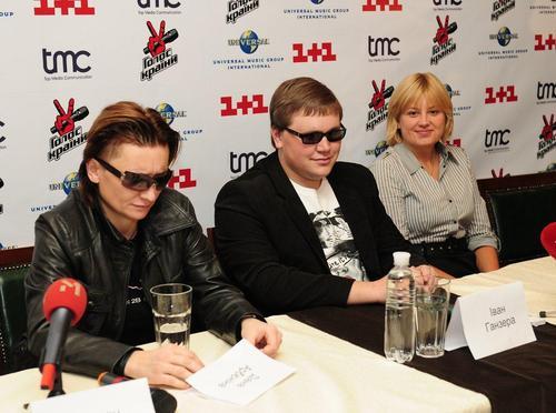 Иван Ганзера (в центре)