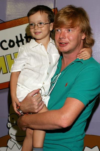 Андрей с сыном Иваном
