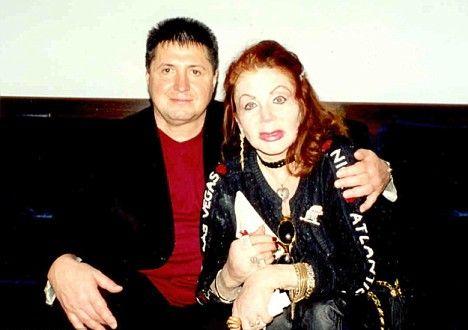 Жаклин Сталлоне и украинский родственник Валерий Кравченко