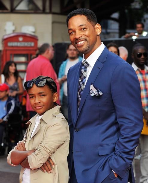 Уилл Смит с сыном Джейденом