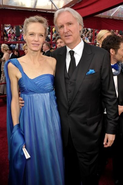 Джеймс Кэмерон со своей пятой супругой Сьюзи Эймис
