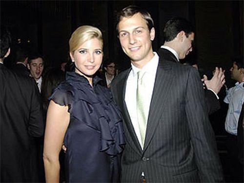 Иванка Трамп и ее возлюбленный Чарльз Кушнер