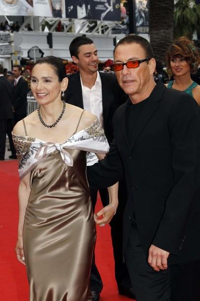 Жан-Клод Ван Дамм c супругой - 52-летней американской актрисой Глэдис Португез