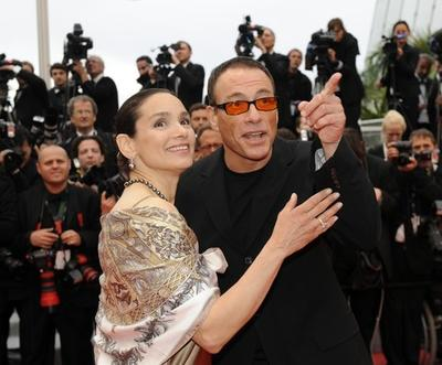 Жан-Клод Ван Дамм / Jean-Claude Van Damme и Глэдис Португез / Gladys Portugues