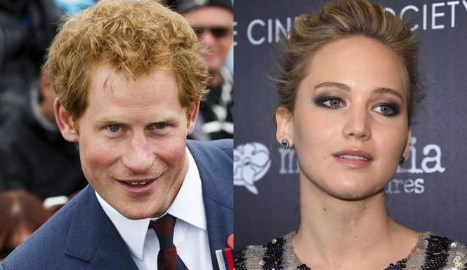 Дженнифер Лоуренс отказала принцу Гарри
