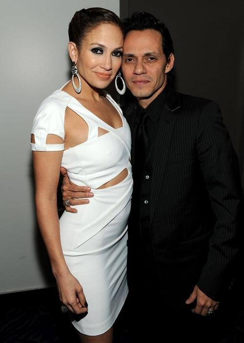 Дженнифер Лопес и ее супруг Марк Энтони