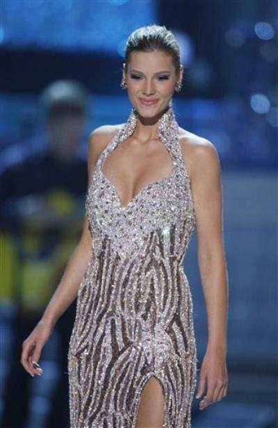 Джессика Хартман из Колорадо, занявшая третье место на конкурсе «Мисс США 2010»