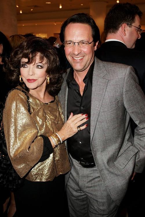 Джоан Коллинз с мужем Перси Гибсоном