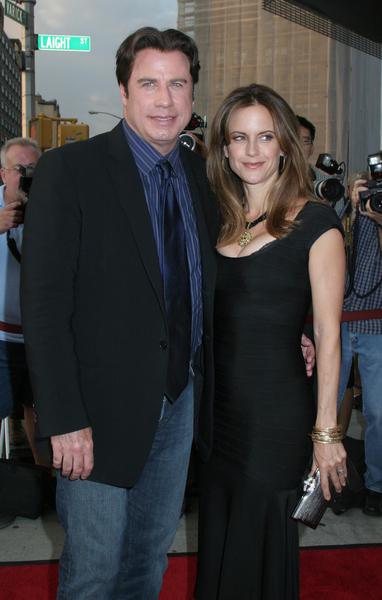 Джон Траволта с супругой Келли Престон