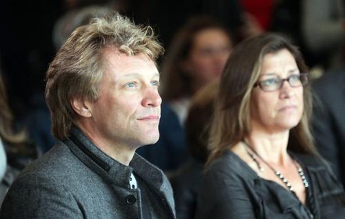 Джон Бон Джови / Jon Bon Jovi со своей супругой Доротеей / Dorothea