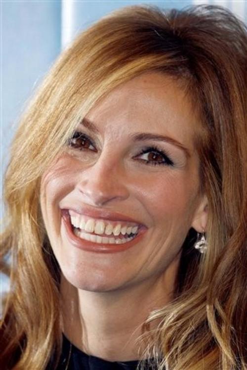 Джулия Робертс прославилась в Голливуде благодаря своей лучезарной улыбке