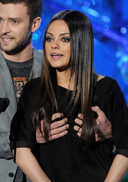 Джастин Тимберлейк / Justin Timberlake и Мила Кунис / Mila Kunis