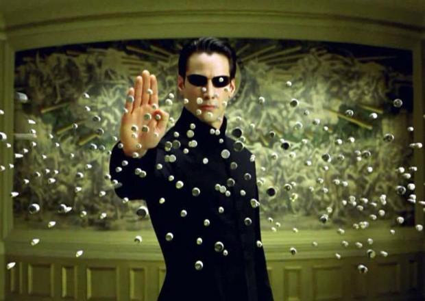 Кадр из фильма 'Матрица'