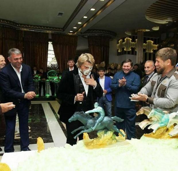 Кадыров измазал Баскова