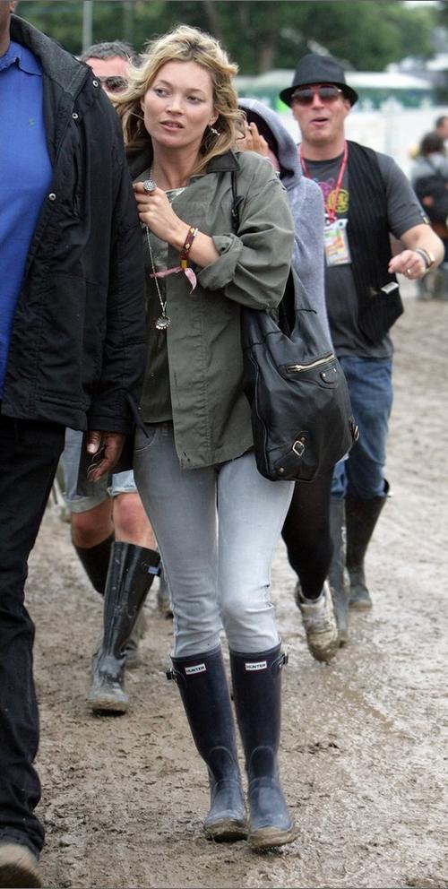 Так Кейти Мосс выглядит в обычной жизни - без макияжа