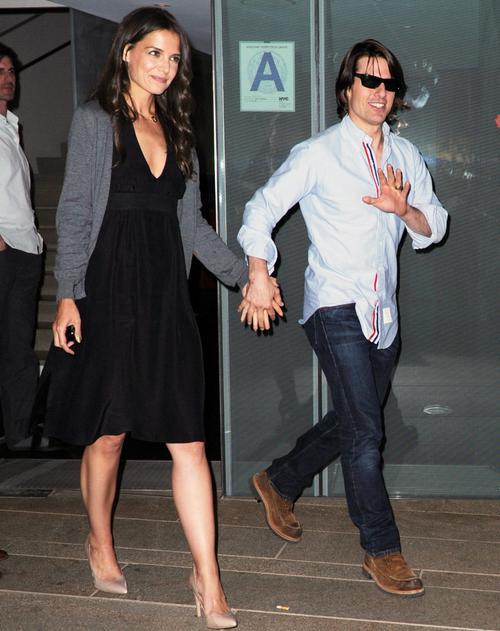 Кэти Холмс / Katie Holmes и Том Круз / Tom Cruise