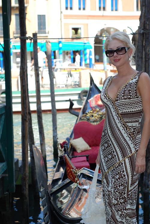 Катя Бужинская в Венеции
