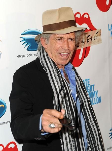 66-летний гитарист Кит Ричардс